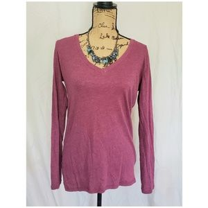 Long Sleeve Plum Shirt